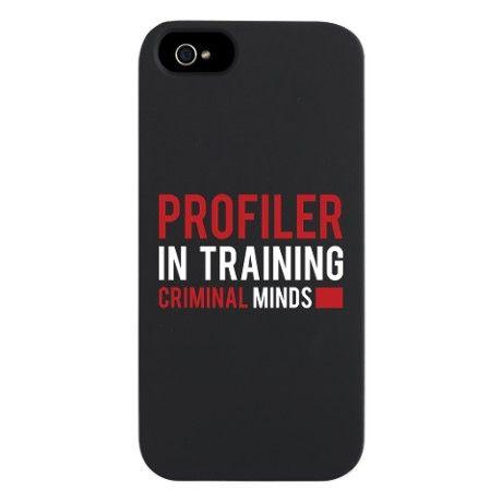 Profiler in Training Criminal Minds iPhone 5 Case $24.50