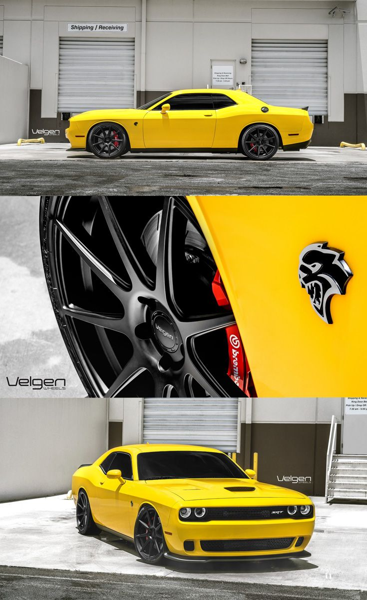 Dodge Challenger Off Road : dodge, challenger, Breaker, Dodge, Challenger, Hellcat, Screaming, Yellow, Collor, Custom,, Hellcat,