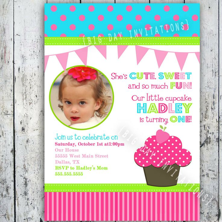 121 best invite ideas images on Pinterest Baby things, Books and - free first birthday invitation template