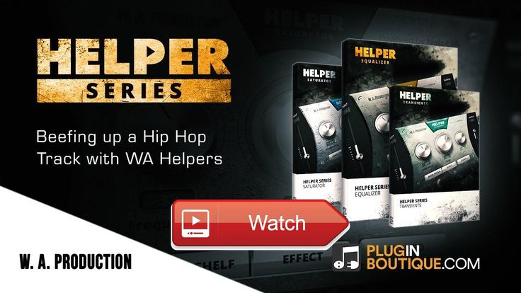 Beefing Up a Hip Hop Track with WA Production Helpers in 1 Bundle  Producer Joshua Casper shows us round the Helper series of plugins from WA Production The bundle consists of three