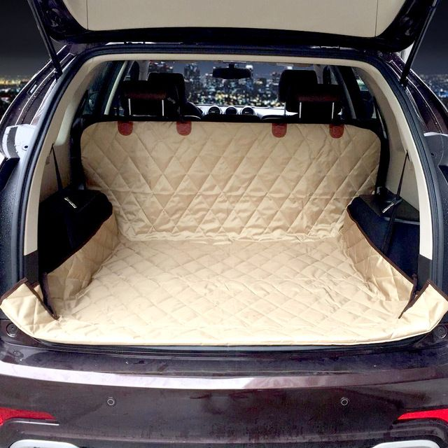 Dual-use soft SUV dog Car Trunk Mat pet dog car Seat Cover Pet Barrier Protect Car floor from Spills and Pet Nail Scratches >>> Check out the image by visiting the link. #DogCarriersTravelProducts