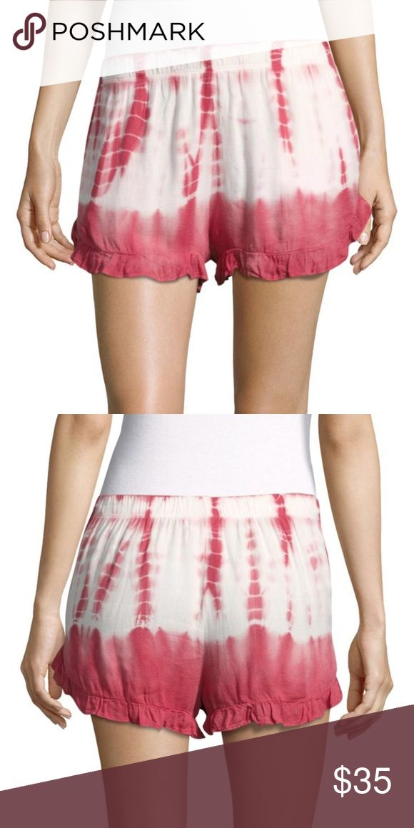 Young, Fabulous, & Broke Tie Dye Ruffle Hem Shorts Look young and fabulous this summer without going broke. These super cute ruffle Hem pink tie dye shorts from Young, Fabulous, & Broke are the perfect way to stay comfy this summer while still looking chic. Perfect for lounging, running quick errands or to slip on over your suit. This versatile pair of tie dye shorts are NWT and in Excellant never worn condition. Ships in 3-5 days.   Be Original  Stay Original  Shop @OriginalHailey Young…