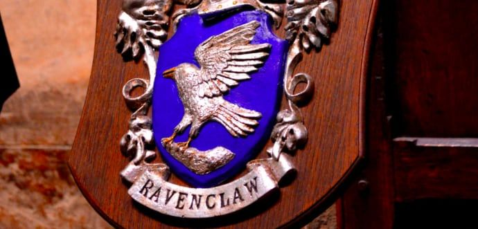 I'm a Ravenclaw but with some Hufflepuff in me too
