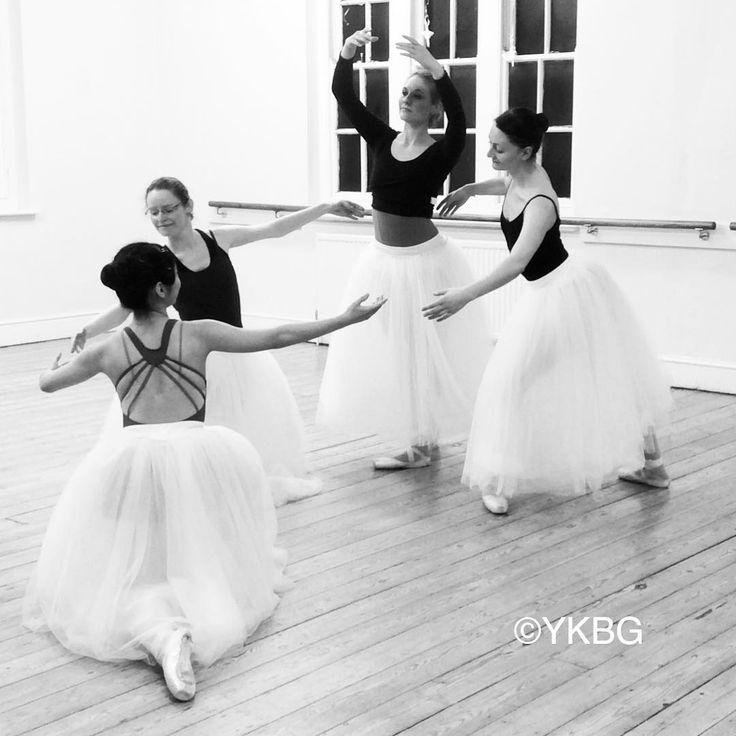 #rehearsal of Le Grand #pasdequatre #romantictutu #ballet #oxford #adultballet #lifeofadancer #YKBG