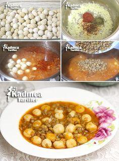 Bulgur Köfteli Yeşil Mercimek Çorbası Tarifi