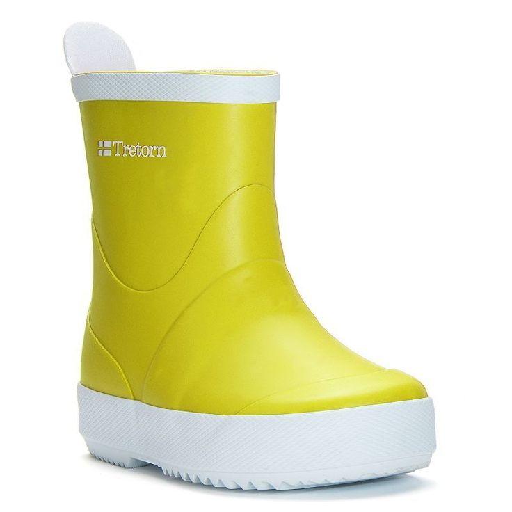 Tretorn Wings Kids' Rain Boots, Kids Unisex, Size: medium (11), Yellow