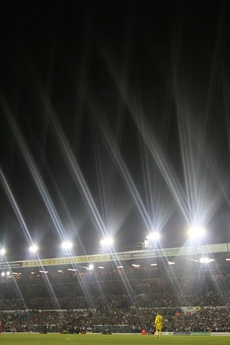 Photo I took of Leeds vs Liverpool - Carling Cup