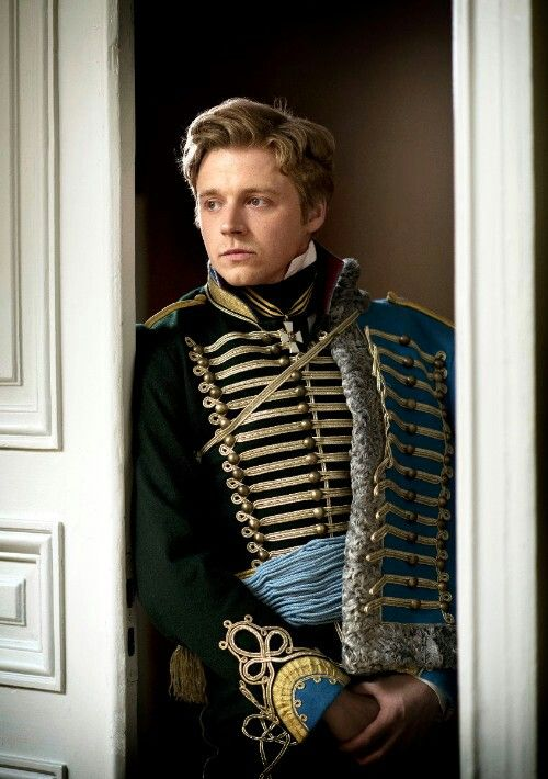 Count Nikolai Rostov (Jack Lowden) of War & Peace (2016)