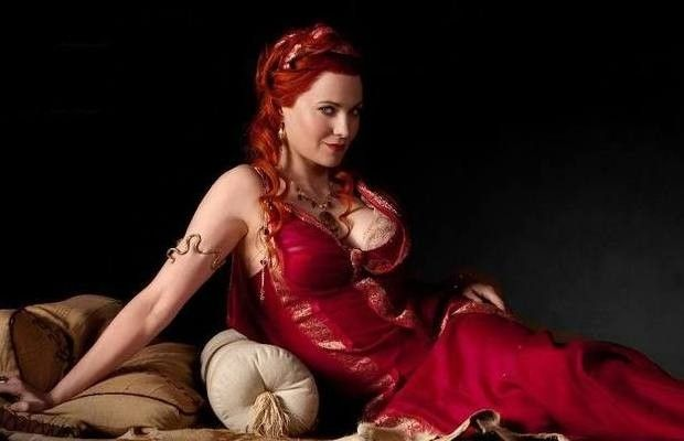 """Lucy Lawless - The 10 Hottest Women From """"Spartacus"""" 