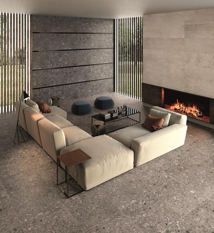 Porcelain stoneware wall/floor #tiles PORTLAND 325 by Ariana Ceramica Italiana | #design Archdesign