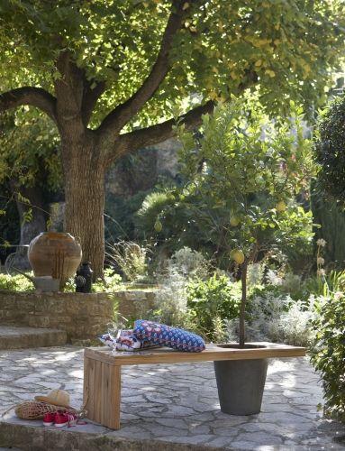 85 best Sols de terrasse, tous les revêtements images on Pinterest - banc en pierre pour jardin