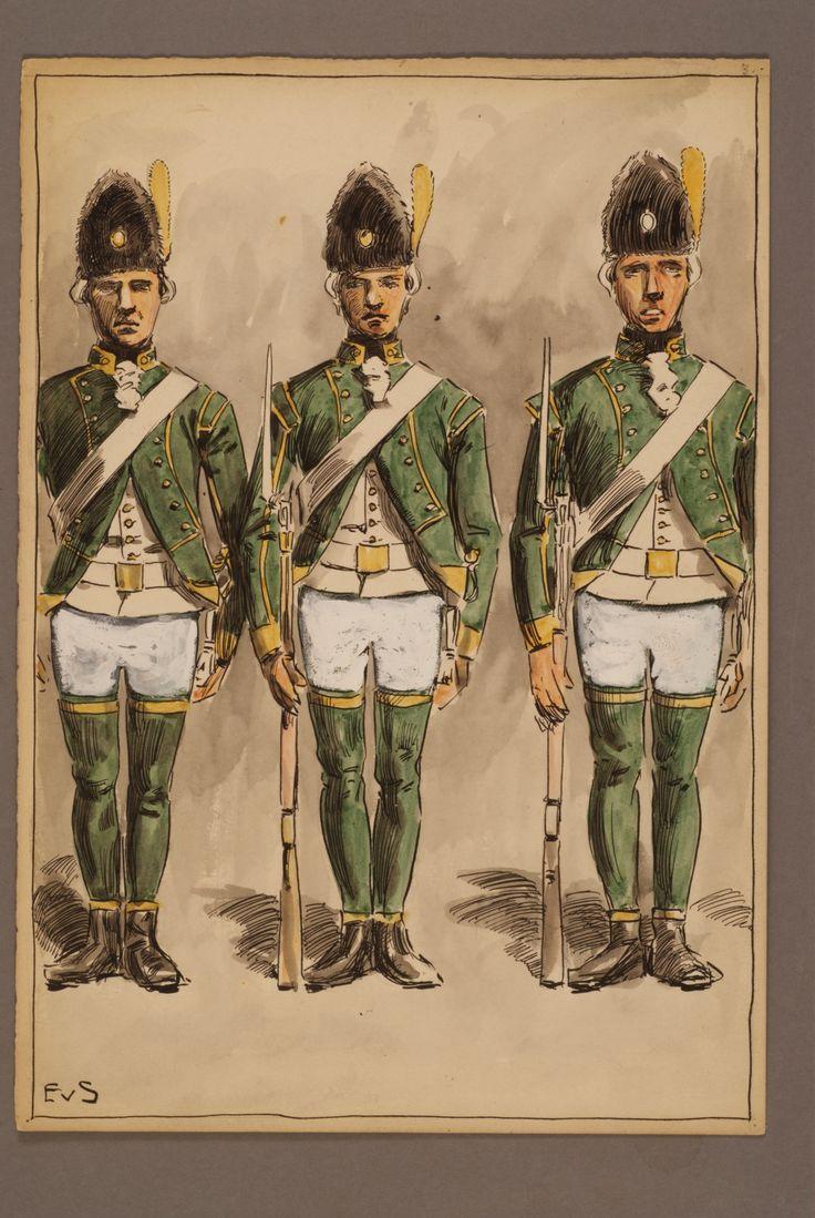 Rangers 1779 by Einar von Strokirch