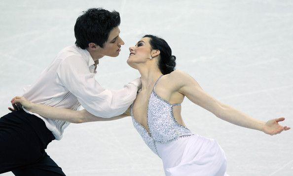 Tessa Virtue and Scott Moir Canadian Olympic gold medalists in ice dancing!