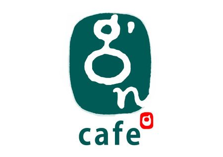 tegakiyaさんの提案 - モーニングサービスと手拭い+和雑貨やります!和モダンカフェ「 g'n cafe 」のロゴ | クラウドソーシング「ランサーズ」