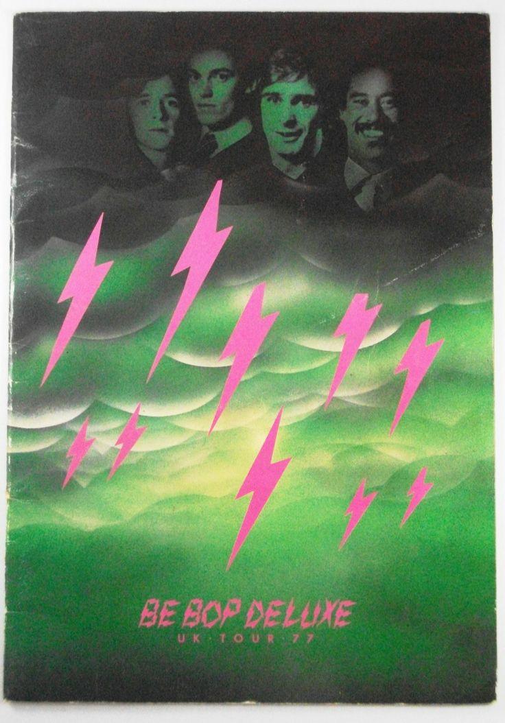 Be Bop Deluxe - 1977 Original Tour Programme.
