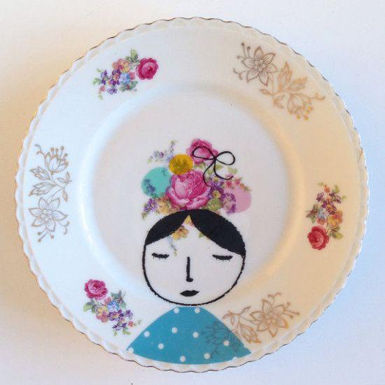 Illustrated ceramics / Nina in Vorm