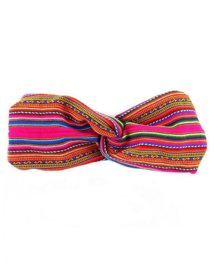 Home :: Woman :: Accessories :: Hair Accessories :: Aymara Rosa - Headband