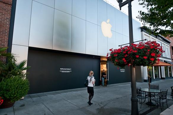 seattle U apple store
