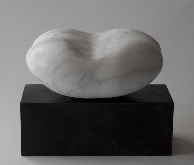 """Danish-born artist Sys Svinding (b. 1960) """"Forms"""", 2011. Marble. #Dansk #Kunst #Danish #Art"""