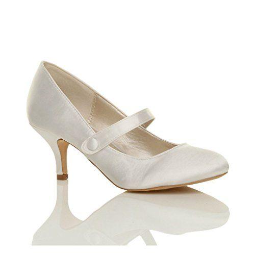 Damen Hoher Absatz Mary Jane Formal Abend Party Ball Pumps Schuhe Größe 7 40 - http://on-line-kaufen.de/ajvani/40-eu-7-uk-damen-hoher-absatz-mary-jane-formal-abend-31