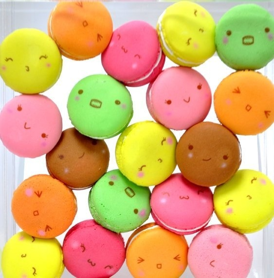 Breadou Squishy Tag : Breadou Macaron - With Original Strap,Breadou Tag & Packaging - In 6 Complete Colors - No Moq ...