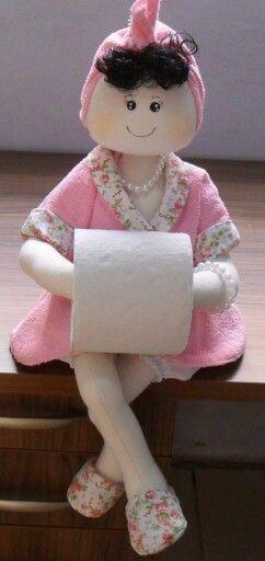 Bobeca porta papel higiênico