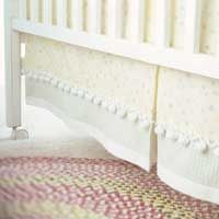 Sew Your Own Crib Skirt