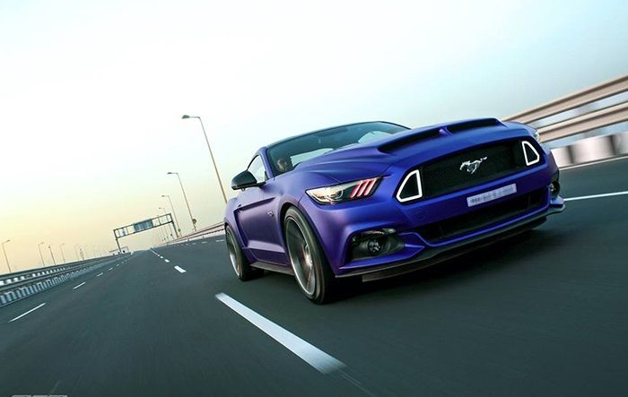 Rohit Shetty's customized Ford Mustang GT in Photos