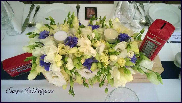 Weselna dekoracja stołu by Sempre La Perfezione Florystyka & Dekoracje Wedding table decoration by Sempre La Perfezione Florystyka & Dekoracje Florystyka i dekoracje