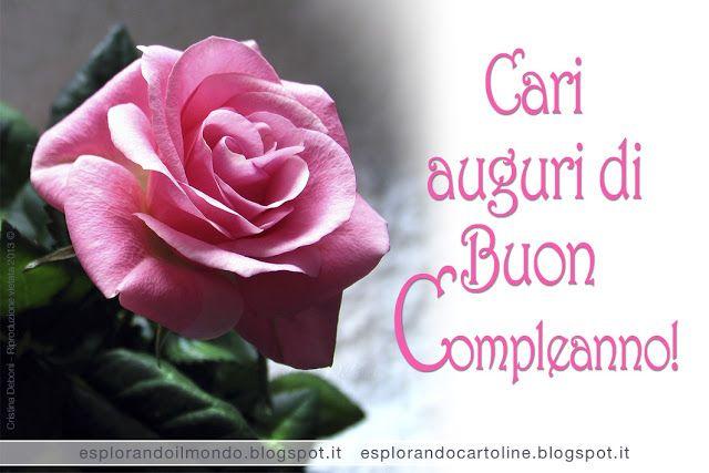 spesso Cari auguri di Buon Compleanno! | auguri | Pinterest | Buon  FF97