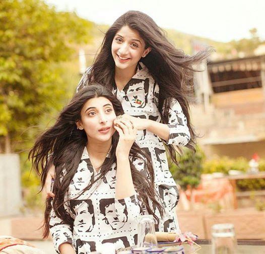 Mawra Hocane and Urwa Hocane #pakistanicelebrities #pakistaniactress