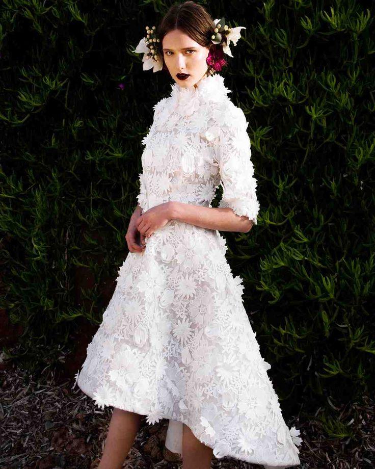 Check out Christos Costarellos's latest wedding dresses.