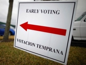 Early Voting starts in Florida in one week.