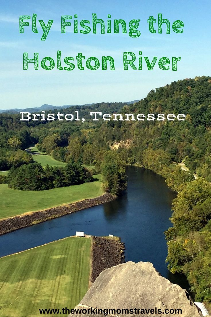Fly fishing the Holston River with North Fork River Outfitters in Bristol, Tennessee