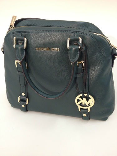 Michael Michael Kors Bedford Large Bowling Stachel Hunter Green SOLD | eBay www.darlingdiscounts.com