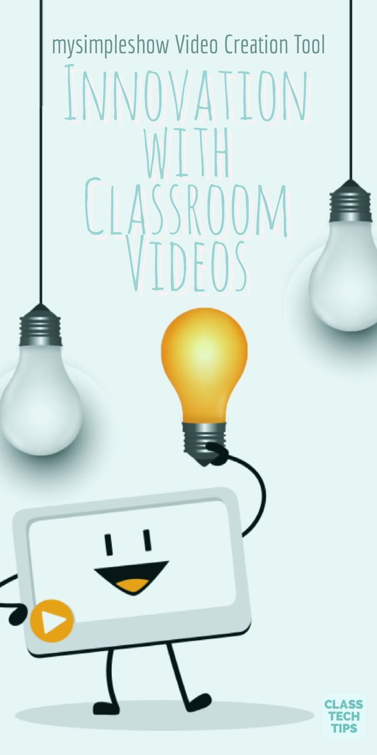 Innovation with Classroom Videos: mysimpleshow Video