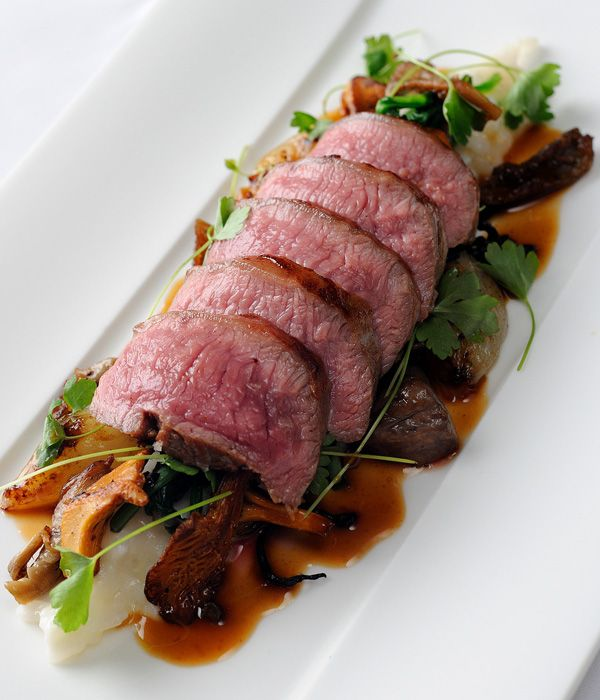 This exceptional lamb loin recipe from Chris Horridge combines creamy Parmesan risotto with succulent lamb for a fantastic supper.