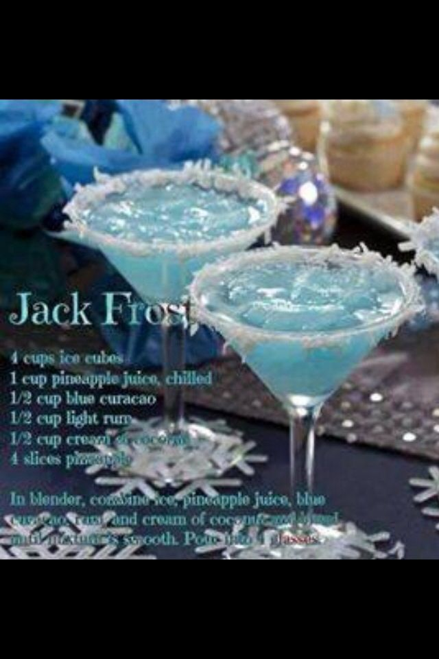 A delish holiday drink