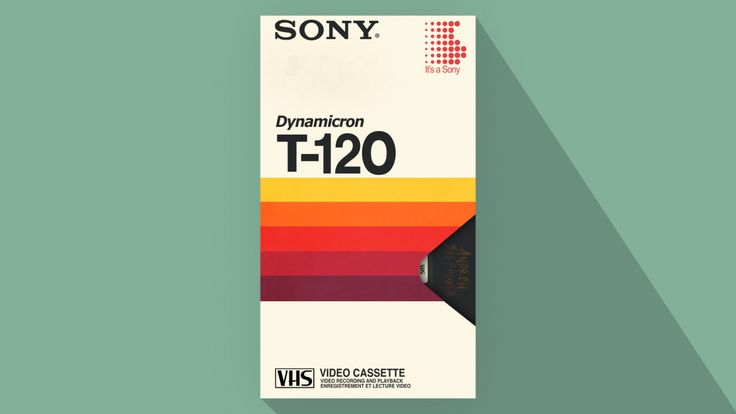 Sony Dynamicron T-120 Video Cassette : By Andrew Salfinger It's a blast from the past with this 1982 Sony Dynamicron T-120 Video Cassette with…