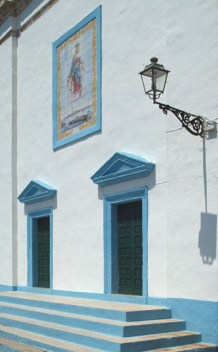 Bianco + azzurro [Gallipoli - Puglia]