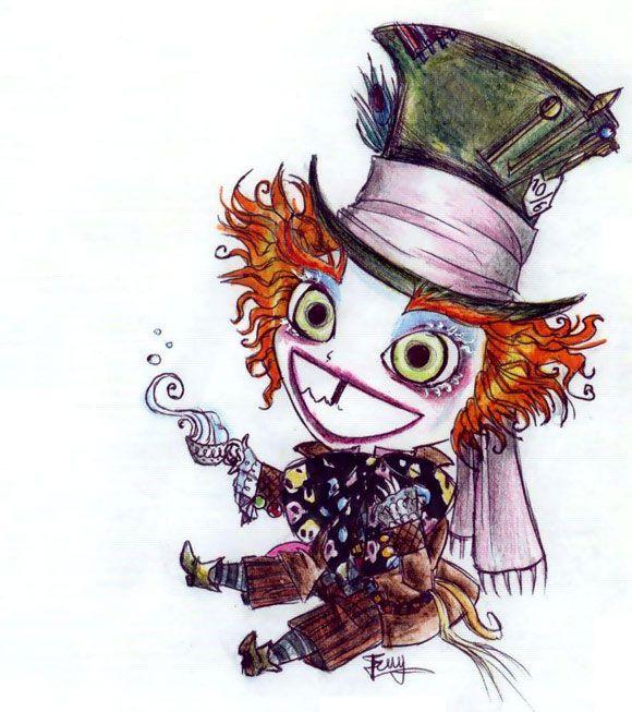 Burton's Mad Hatter by rochel-chan
