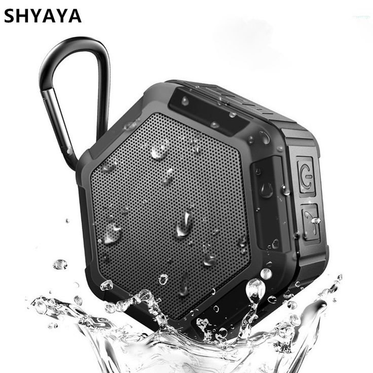 SHYAYA Bluetooth Speaker 12 Hour Playtime Mini Outdoor Water Resistant Wireless Stereo Speaker CSR Chip Bass for iPhone Samsung