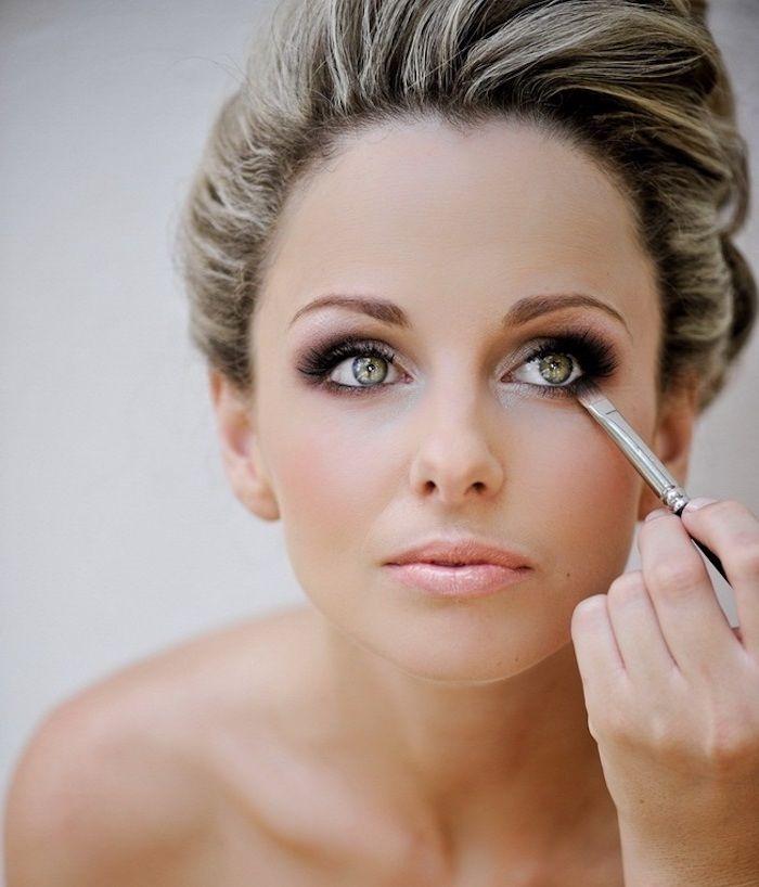 1001 Ideen Fur Atemberaubendes Hochzeits Make Up Augen Make Up Anleitung Make Up Augen Make Up Anleitung
