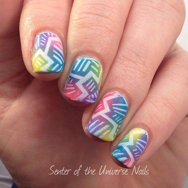 Instagram photo by senteroftheuniverse_nails #nail #nails #nailart