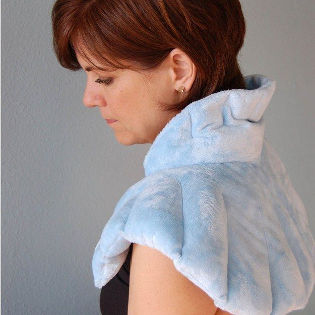This restorative neck wrap ($30). | 27 Gifts For People Who Are So Done With Work