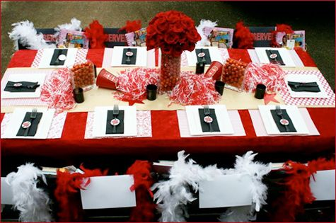 Great idea for cheer banquet!