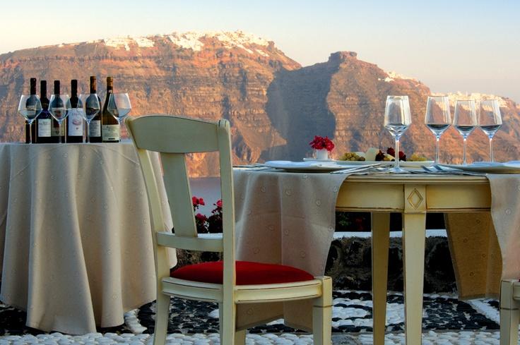 Wine Tasting at Andronis Luxury Suites, Santorini