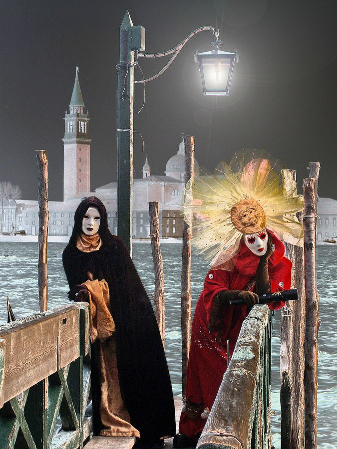 Midnight in Venice Carnival by Giorgio Savio on 500px