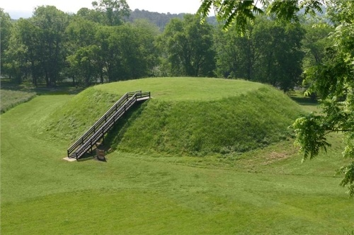 Etowah Indian Mounds State Historic Site---Cartersville, GA 1 hour north of ATL>