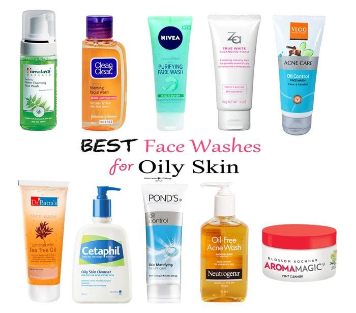 Best Face Wash For Oily & Acne Prone Skin: Affordable & Budget Friendly Options